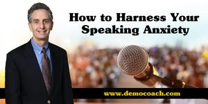 How to Harness Your Speaking Anxiety - Hong Kong
