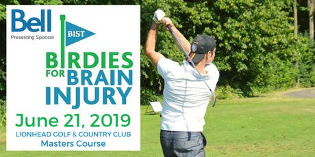 Birdies for Brain Injury Golf Tournament tickets