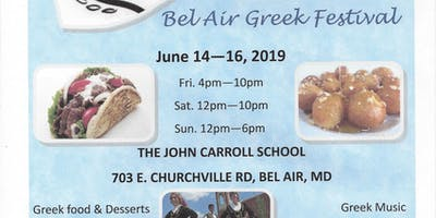 Greek Festival of Bel Air