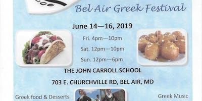 Greek Festival of Bel Air