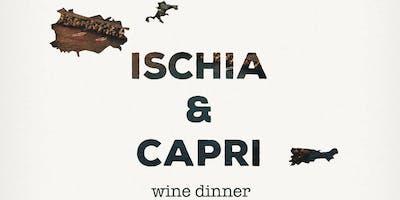 Ischia & Capri Wine Dinner at avec