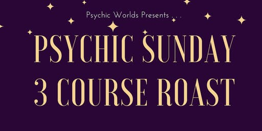 Psychic Sunday 3 Course Roast- The Bridge Inn- Herefordshire- £25 P/P