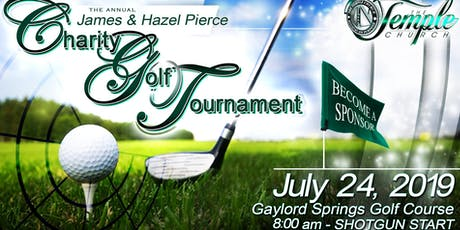 The 2019 James and Hazel Pierce Charity Golf Tournament  tickets