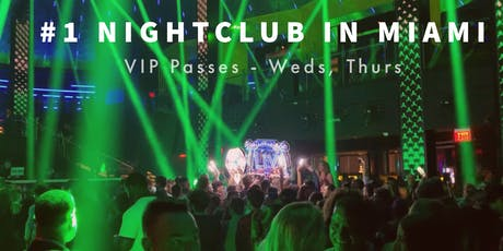 Miami Beach Nightclub VIP Party Ticket to #1 Nightclub tickets