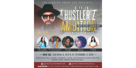 """A Hustler'z Ambition"" Business Seminar tickets"