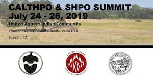 CalTHPO SHPO Summit 2019