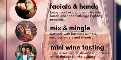 WINE TASTING EDITION Beauty Talks, A Networking Event