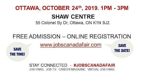 Ottawa Transportation Profession Job Fair - October 24th, 2019 tickets