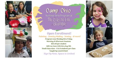 Camp Chic: Summer Arts Program 2019