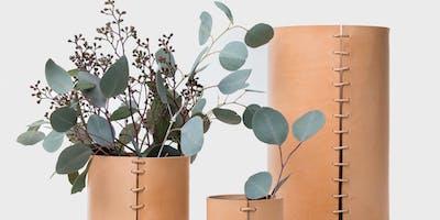 Leather Making Workshop: Vases