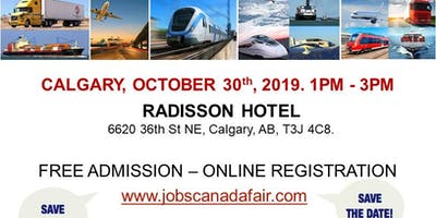 Calgary Transportation Job Fair – October 30th, 2019