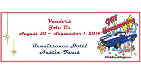 Gymnastics Association of Texas VENDOR BOOTHS 2019 tickets