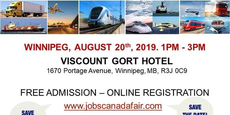 Winnipeg Transportation Job Fair- August 20th, 2019 tickets