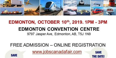 Edmonton Transportation Job Fair - October 10th, 2019 tickets