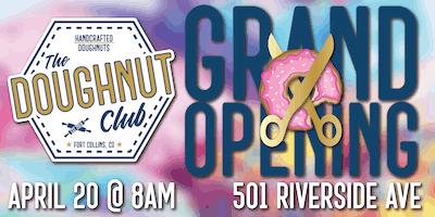 The Doughnut Club Grand Opening