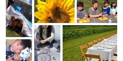 WK 4 - Freedom Farm Camp - Cooking (Prepare a 3 course meal & serve it), Harvest, All About Bees, Crafts, Animals & more!!