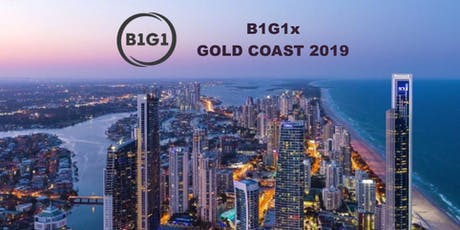 B1G1x Gold Coast 2019 tickets