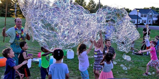 190615- Free Bubble Festival in Collegeville, with Food Trucks