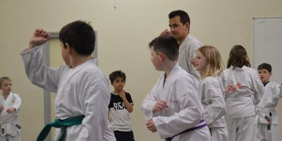 FREE KIDS Japanese Ju Jitsu Trial lesson at Coalville - THURSDAY 28th March