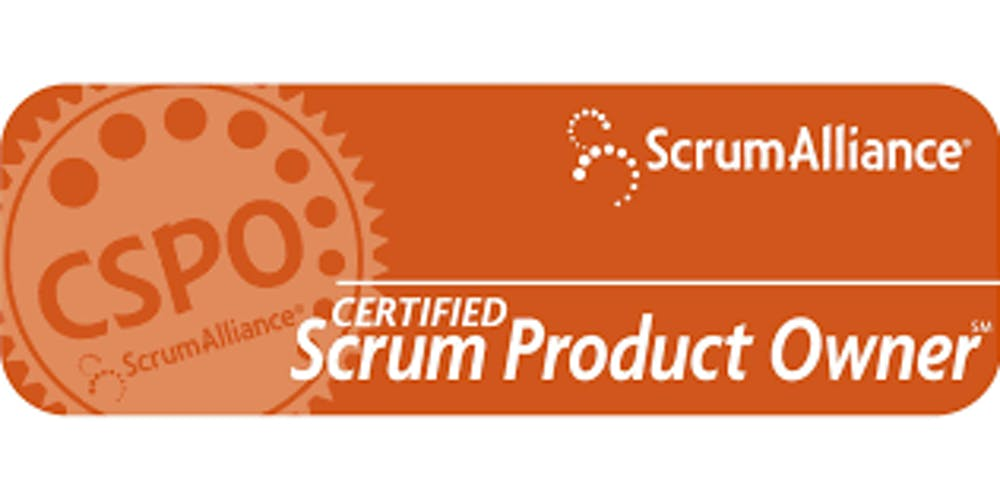Official Certified Scrum Product Owner CSPO by Scrum Alliance