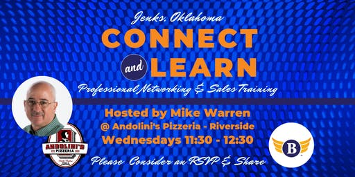 Jenks, OK: Connect & Learn | Professional Networking & Sales Training