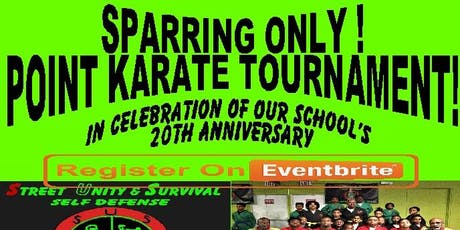 Sparring Only Point KARATE   Tournament tickets