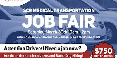 SCR Medical Transportation DRIVER Job Fair - SAME DAY HIRING