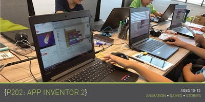 Coding for Kids - P202: App Inventor 2 Course (Ages 10-12) @ Upp Bukit Timah