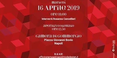 Conferenza Stampa IV edizione NapoliModaDesign