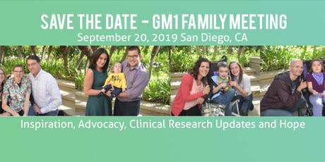 2019 GM1 Family Meeting  tickets