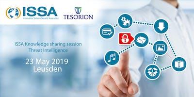 ISSA knowledge sharing session Threat Intelligence