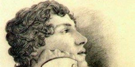 John Keats in 1819 tickets