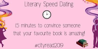 Literary speed dating (Cityread 2019)