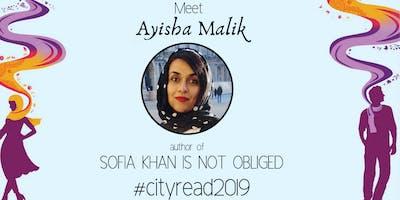 Meet author Ayisha Malik (Cityread 2019)