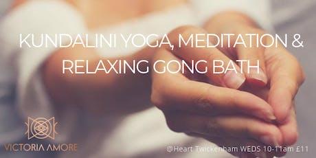 Kundalini Yoga, Meditation and Relaxing Gong Bath  tickets
