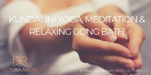 Kundalini Yoga, Meditation and Relaxing Gong Bath