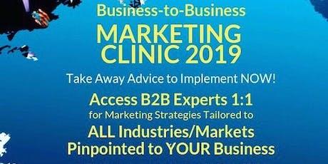 BCA B2B Marketing, Branding & Strategy Clinic 2019 Event tickets