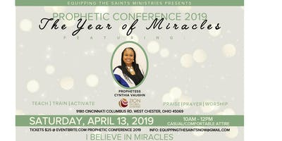 PROPHETIC CONFERENCE 2019/Postponed New Date October 2019