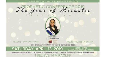 PROPHETIC CONFERENCE 2019/Postponed New Date October 2019
