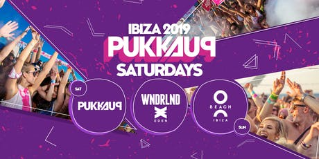 Pukka Up - Saturday Sunset Boat with WNDRLND Closing Party @ Eden tickets