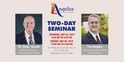 Dr. Peter Kreeft  Day #1 Seminar By Angelus Faith & Healing Mission