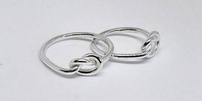 Silver ring making workshop 4