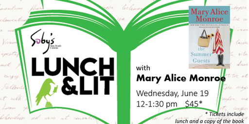Lunch & Lit with Mary Alice Monroe-SOLD OUT