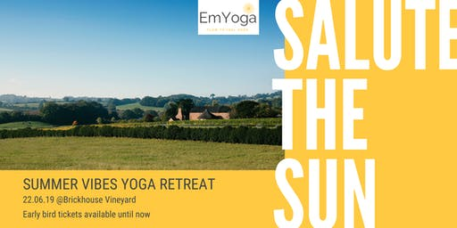 Salute the Sun - Yoga Retreat