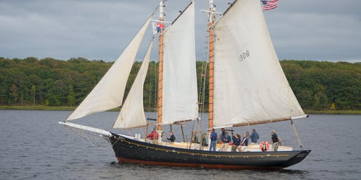 Schooner Mary E:  Boothbay Windjammer Days Parade (2.5 hours)
