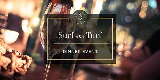 Surf & Turf Seven Course Dinner Event