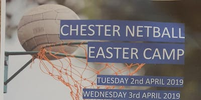 CHESTER NETBALL CLUB - EASTER NETBALL CAMPS