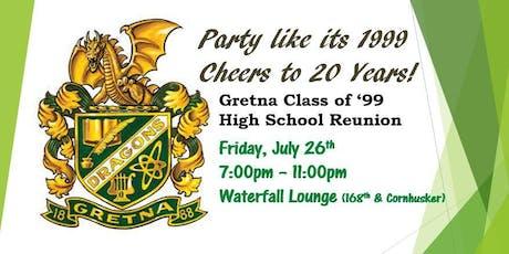 Gretna High School 20 Year Reunion tickets