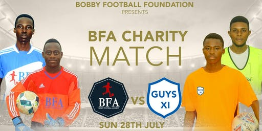 BFA CHARITY MATCH