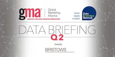 Data Briefing Q2 tickets